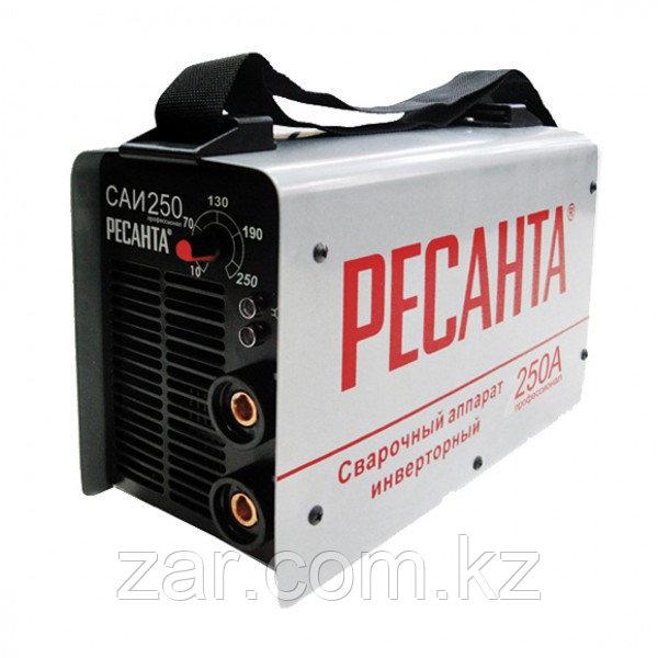 Сварочный аппарат инверторный Ресанта САИ 250 в кейсе, сварочный инвертор