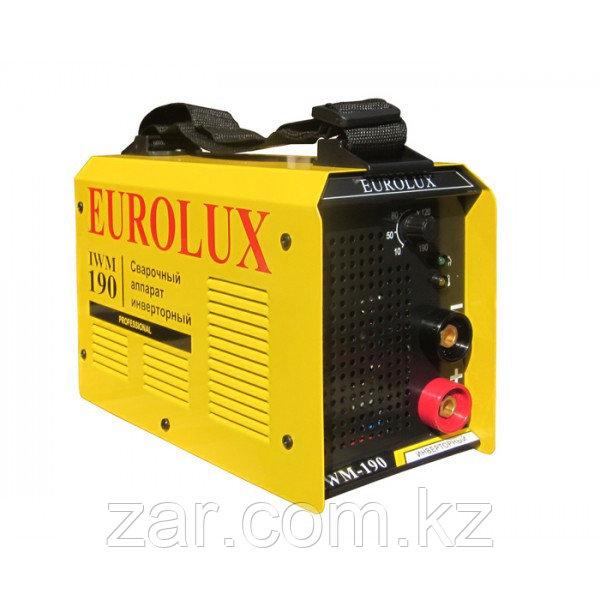 Сварочный аппарат инверторный IWM 190 Eurolux, сварочный инвертор