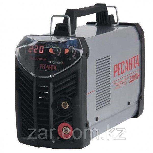 Сварочный аппарат инверторный Ресанта САИ 220ПН при пониженном напряжении, сварочный инвертор