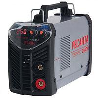 Сварочный аппарат инверторный Ресанта САИ 250ПН при пониженном напряжении, сварочный инвертор