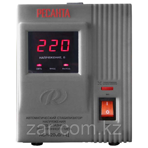 Ресанта АСН-2000/1-Ц Однофазный стабилизатор электронного типа
