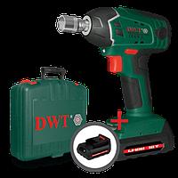 Гайковерт аккумуляторный DWT, ABW-18 SLi-2 BMC