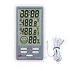 DC803  Термометр с функцией измерения влажности воздуха с внешним датчиком