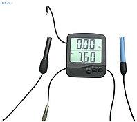 Монитор качества воды pH-02726: измрение pH, удельной электропроводности (EC) и солесодержания воды