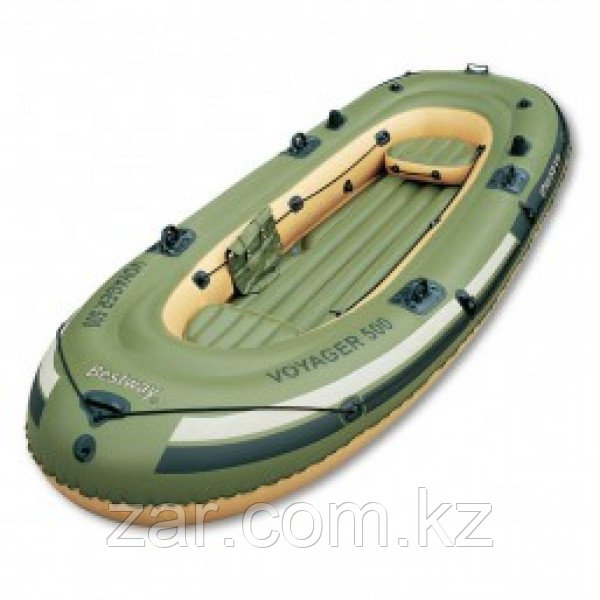 Лодка Voyager 500 3 местная до 253 кг Bestway 65001 (348*142 см)