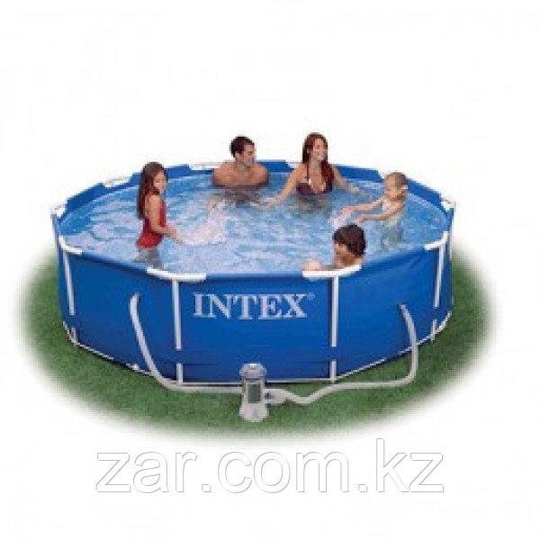 Каркасный бассейн Intex 28202 (305*76 см, с фильтром)