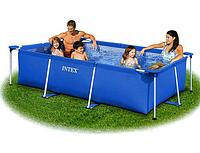 Каркасный бассейн Intex 28270 Rectangular Frame Pool, 220х150х60 см