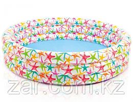 Надувной бассейн Intex 56440 Морские Звезды, 168 х 38 см, от 2 лет