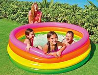 Надувной бассейн INTEX 56441 Радуга, 168 х 46 см, от 6 лет, фото 1