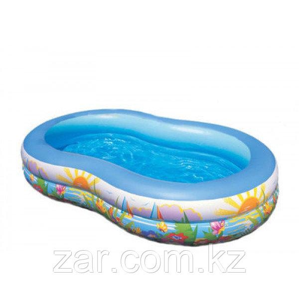 Надувной бассейн Intex 56490 (262*160 см)