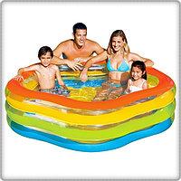 Надувной бассейн Intex 56495 (185*180*53 см)