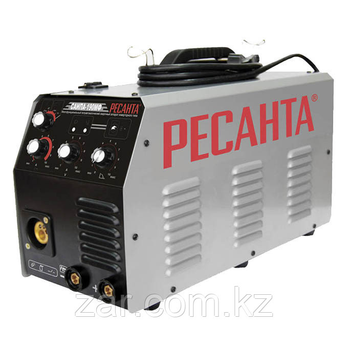Сварочный аппарат инверторный полуавтомат Ресанта САИПА 190МФ многофункциональный, сварочный инверто