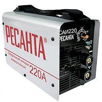 Сварочный аппарат инверторный Ресанта САИ 220 в кейсе, сварочный инвертор