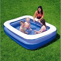 54005 BW Надувной прямоугольный бассейн, 201х150х51 см, 450 л