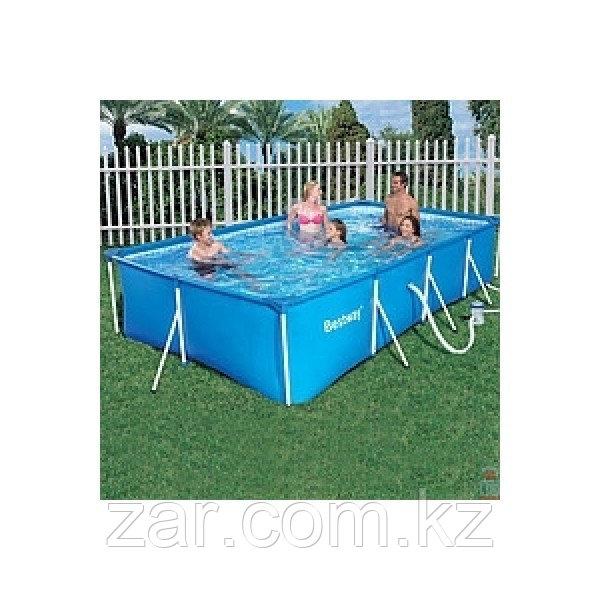 Каркасный бассейн Bestway 56411 (300*201*66 см)+Фильтр