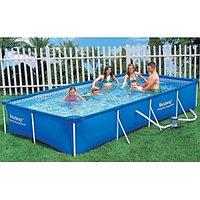 Каркасный бассейн Bestway 56424 (400*211*81 см с насосом)
