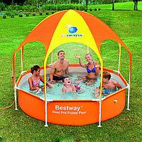 Каркасный бассейн Bestway 56432 (244*51 см)с зонтом