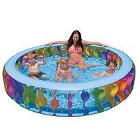 Надувной бассейн Intex 56480 (229*56 см)