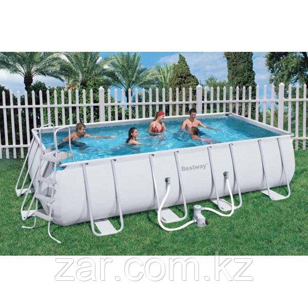Каркасный бассейн Bestway 56466 (549*274*122 см)с песочным фильтром