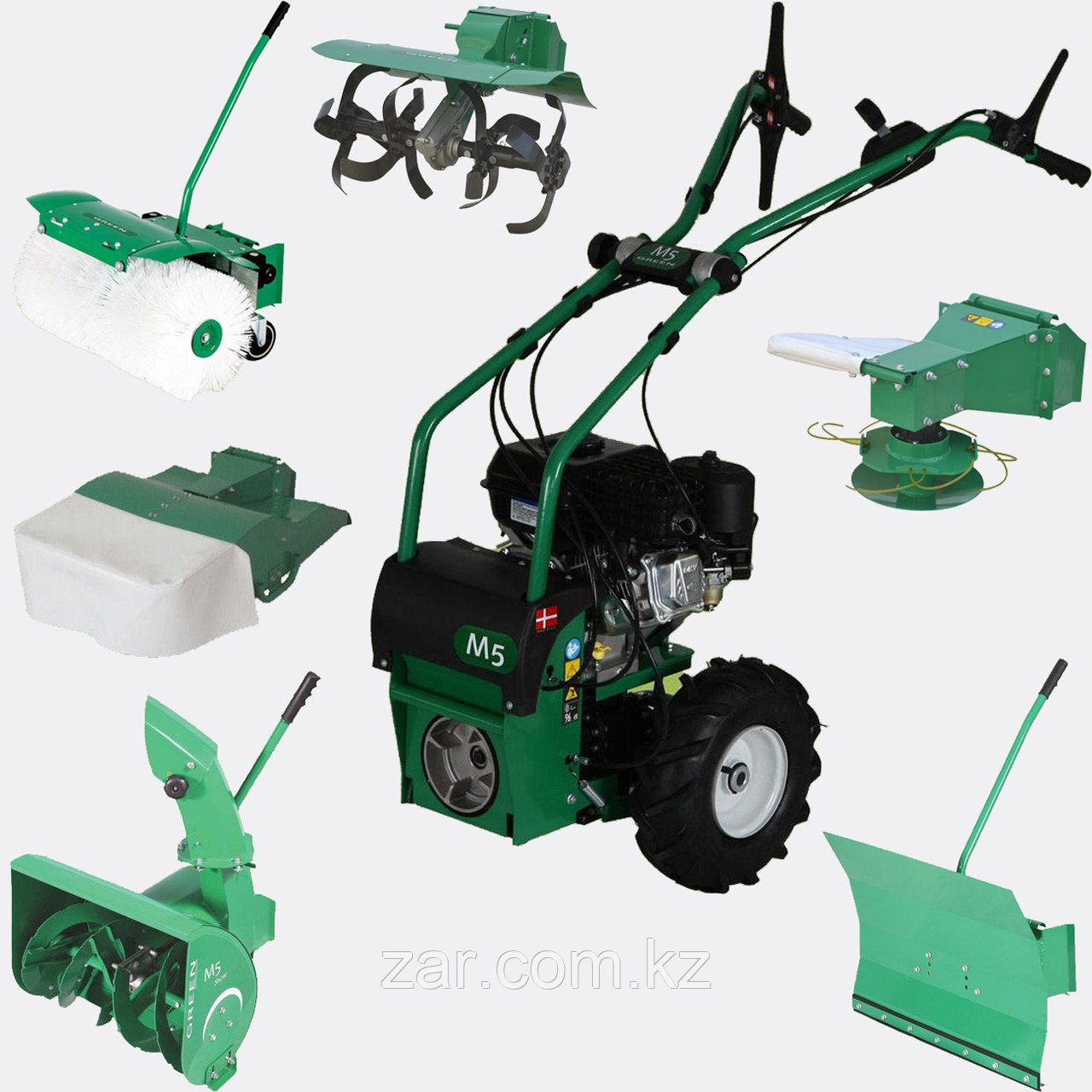 Мотоблок Green Tiller M5 (Briggs and Stratton)