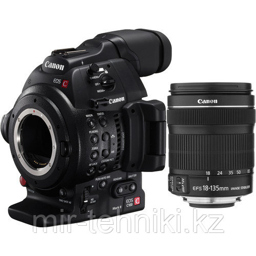 Фотоаппарат Canon EOS C100 Mark II Cinema EOS Camera  kit EF-S 18-135mm IS NANO