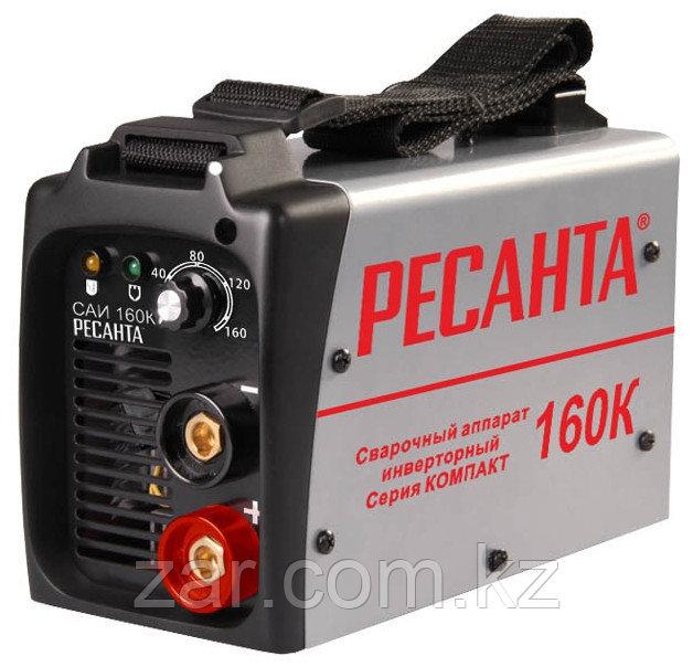 Сварочный аппарат инверторный Ресанта САИ 160К, сварочный инвертор