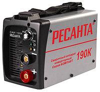 Сварочный аппарат инверторный Ресанта САИ 190К, сварочный инвертор