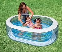 Детский надувной бассейн Bestway 57482(163х107х46) , Алматы, фото 1