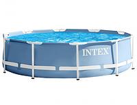 Бассейн каркасный Intex 28702 Prism Frame Pool, 305 х 76 см + фильтр-насос