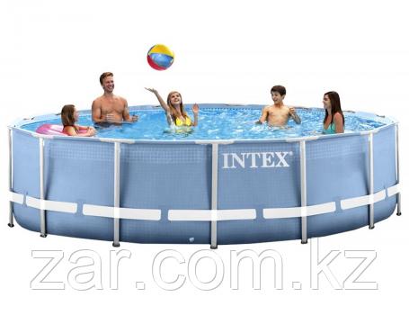 Бассейн каркасный Intex 28734 Prism Frame Pool, 457 х 107 см + фильтр-насос + аксессуары