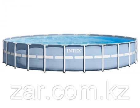 Бассейн каркасный Intex 26340 Prism Frame Pool, 732 х 132 см + фильтр-насос + аксессуары