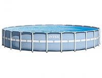 Бассейн каркасный Intex 26340 Prism Frame Pool, 732 х 132 см + фильтр-насос + аксессуары, фото 1