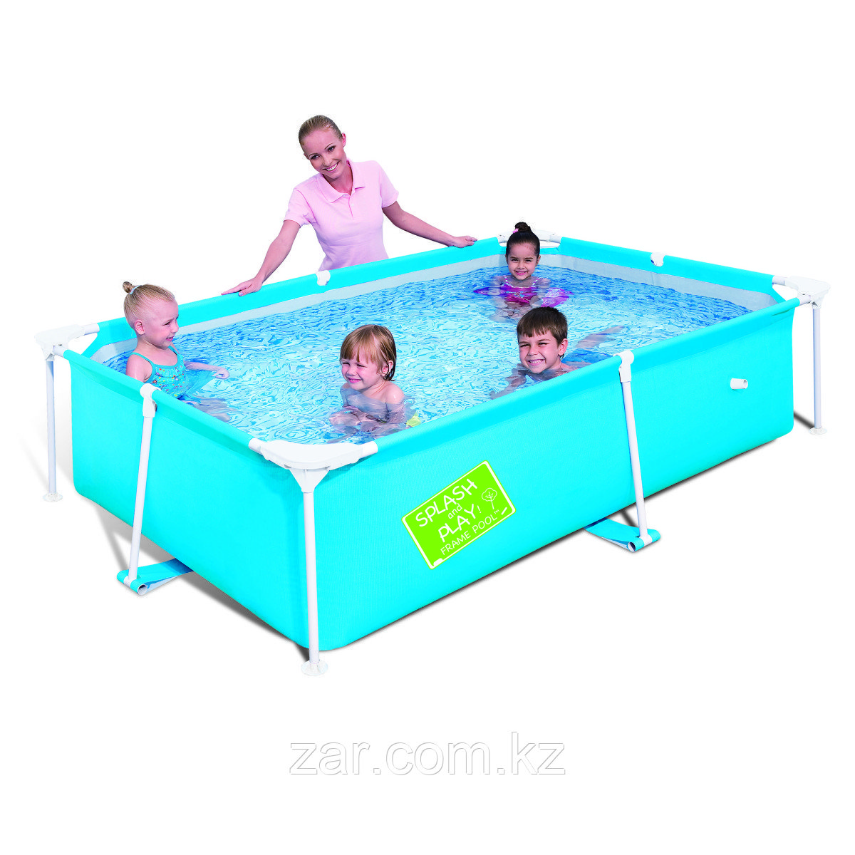 56402 BW Каркасный прямоугольный бассейн 239х150х58 см, 1800 л