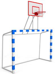 Баскетбольный щит с воротами (щит из оргстекла)