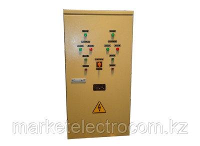 Шкаф управления канализационной станции на 2 насоса, с автоматикой по уровню воды ШУКНС-0,4/ХХХ-У3.