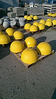 Ограничители бордюрные, полусферы бетонные