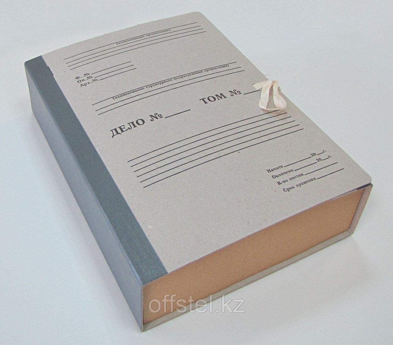 Папка из переплетного картона корешок покрыт бумвинилом (Арт.1540к)