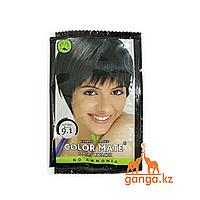 """Краска на основе Хны для окрашивания волос """"Натуральный черный"""" (Hair Color COLOR MATE), 15 г./1 пакетик"""