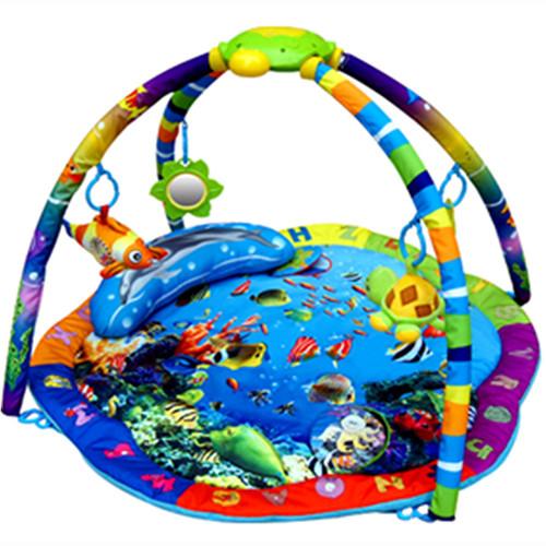 Развивающий коврик LaDiDa Подводный мир со светом и музыкой