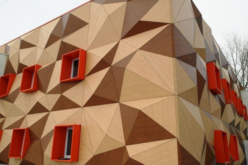 Фасадные облицовочные панели ROCKWOOL - ROCKPANEL Woods