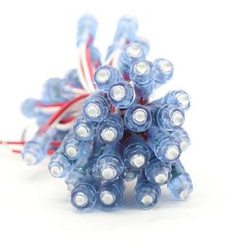 Точечные светодиодные модули 9мм (IP67)  0,15W, цвет - синий