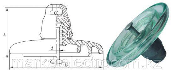 Изолятор ПС 120 Б