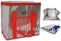 Сумка холодильник 37* 21*31 см (термосумка) красная