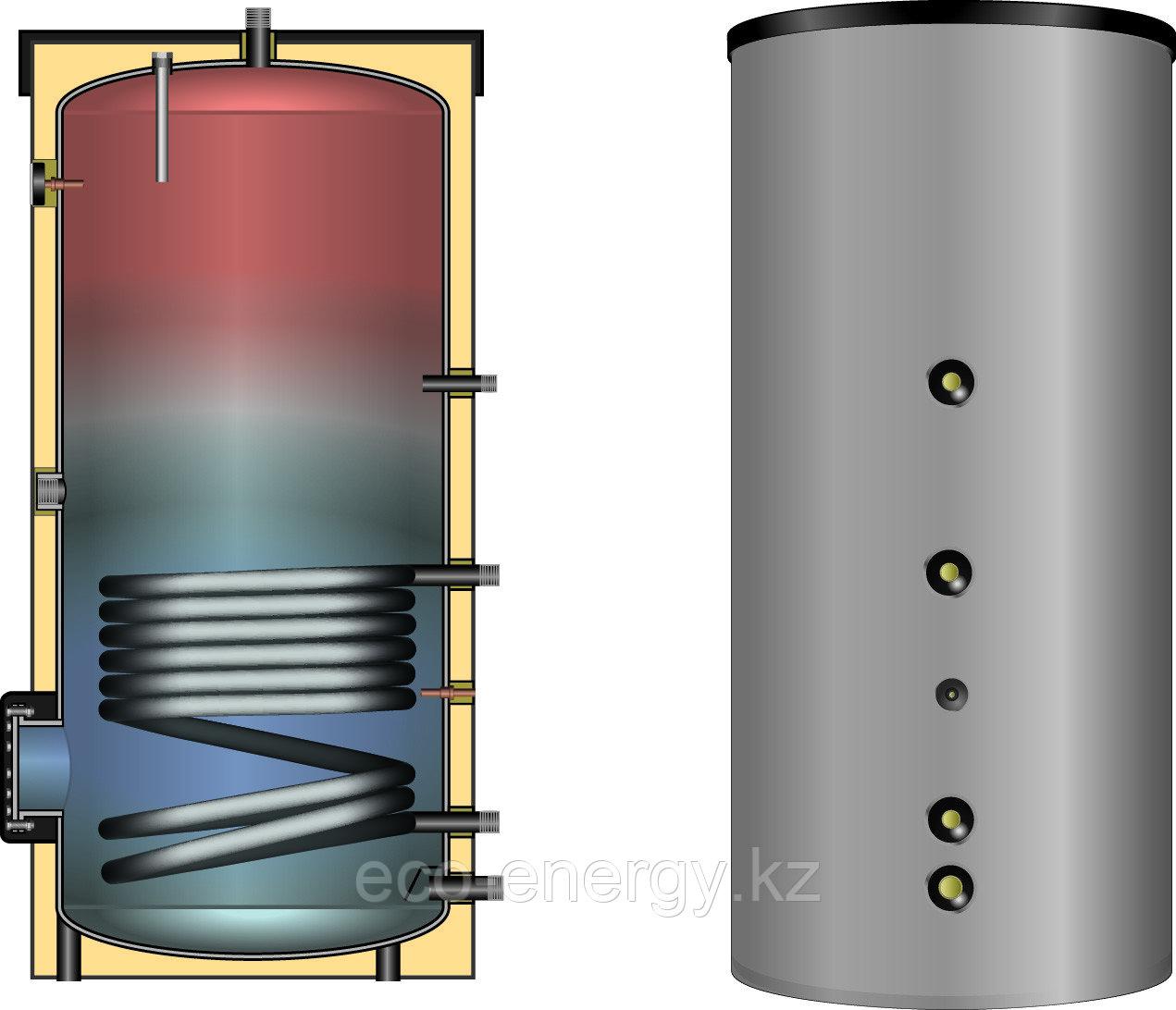 Водонагреватель (косвенный) EBS-PU 200 л