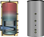 Водонагреватель (косвенный) EBS-PU 500 л