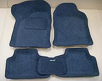 """Комплект ворсовых 3-d ковров в салон """"Boratex"""", темно серые"""