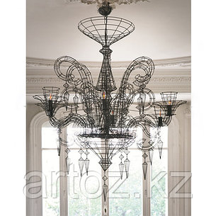 Люстра NEO-BAROQUE CHANDELIER(black), фото 2