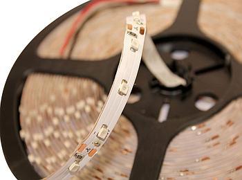 Не влагозащищенная светодиодная лента SMD 3528, 60 д/м цвет красный (катушка 10м)