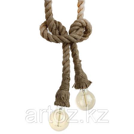 Лампа Hemp Rope lamp, фото 2