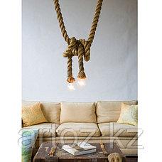 Лампа Hemp Rope lamp, фото 3
